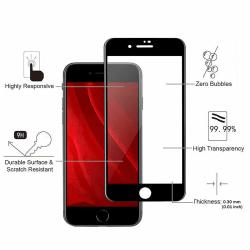 2 Pack iPhone 7/8 - Härdat Glas Skärmskydd