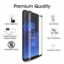 2 Pack Samsung Galaxy S8 Plus - Härdat Glas Skärmskydd
