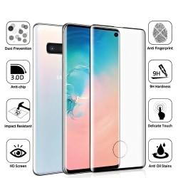 3 Pack Samsung Galaxy S10 - Härdat Glas Skärmskydd