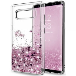 Galaxy S10 Plus - Flytande Glitter 3D Bling Skal Case