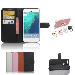 Google Pixel XL - Plånboksfodral / Plånbok / Fodral Svart