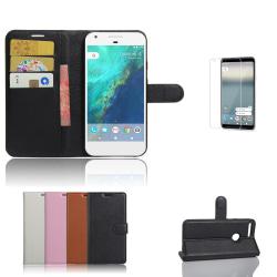 Google Pixel XL - Plånboksfodral / Plånbok / Fodral Vit