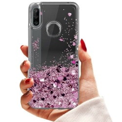 Huawei P30 Lite - Flytande Glitter 3D Bling Skal Case