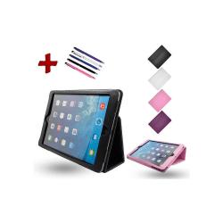 iPad Air - Läderfodral / Skydd Svart