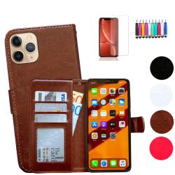 iPhone 11 Pro - Läderfodral / Skydd Brun