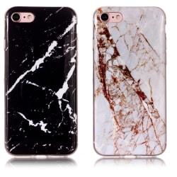 iPhone 6 / 6S - Skal / Skydd / Marmor Svart