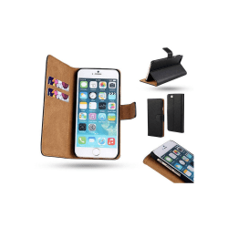 iPhone 6 Plus / 6S Plus - Läderfodral / Plånbok
