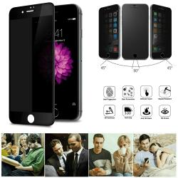 iPhone 7/8 - Integritet Härdat Glas Skärmskydd