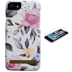iPhone 7/8/SE (2020) - Skal / Skydd / Blommor