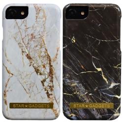 iPhone 7/8/SE (2020) - Skal / Skydd / Marmor Svart