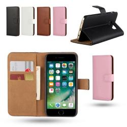 iPhone 7 Plus / 8 Plus - Plånboksfodral / Skydd Svart