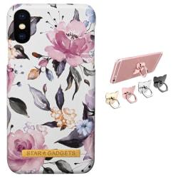 iPhone X/Xs - Skal / Skydd / Blommor