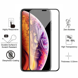 iPhone Xs Max - Härdat Glas Skärmskydd