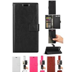 OnePlus 5 - Läderfodral/Skydd Vit