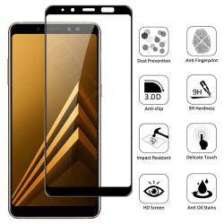 Samsung Galaxy A8 2018 - Härdat Glas Skärmskydd