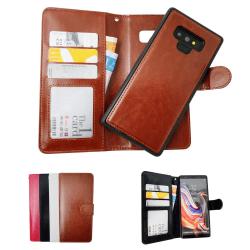Samsung Galaxy Note9 - Läderfodral / Skydd Svart