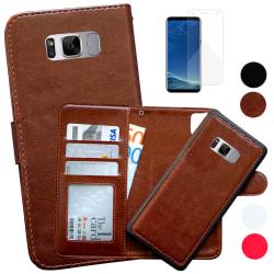 Samsung Galaxy S8 - Läderfodral/Skydd Brun