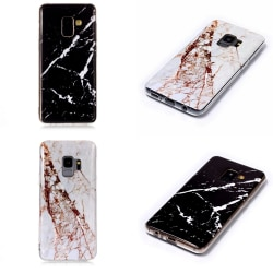 Samsung Galaxy S9 - Skal / Skydd / Marmor Vit
