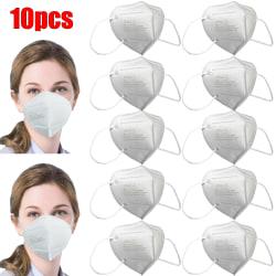 10-st FFP3 Dammmasker Återanvändbar mask Justerbar