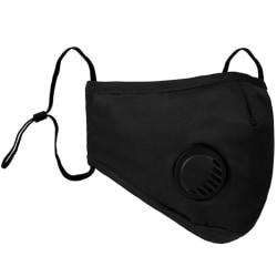 5-st masker PM2.5 Hälsoskyddande tvättbara masker Blå 5-st