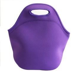 Fashion picnic bag portable insulation bag lunch bag purple