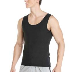 Högkvalitativ body sculpting sport bastu ärmlös väst manlig L/XL