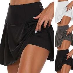 Kvinnas yogakjol, lämplig för golf, löpning, träning svart M