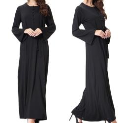 Lady Abaya Kaftan Islamic Arab Robe Women L