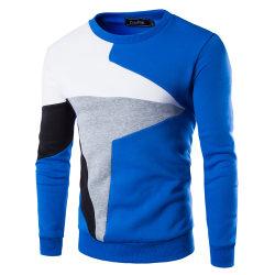 Men Long Sleeve Sports Fitness Sweatshirt Skinny Pullover Tops Blue M