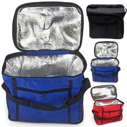 Picnic bag, portable portable outdoor insulation bag, lunch bag black 27cm*17cm*24cm