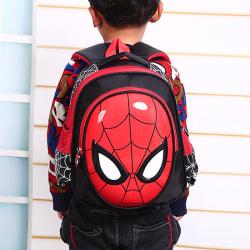 Spiderman backpack schoolbag  superhero cartoon anime schoolbag  black