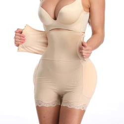 Women Abdomen High Waist Shapewear Workout Clothing Corsets color M