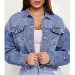 Fynda billig jeansjacka för dam på nätet | Fyndiq