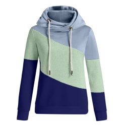 Womens Winter Long Sleeve Hoodie Sweatshirt Jumper Pullover Tops Green XL