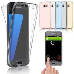 Crystal-Fodral med Touchsensorer (Dubbelt) Samsung Galaxy S10 Transparent/Genomskinlig