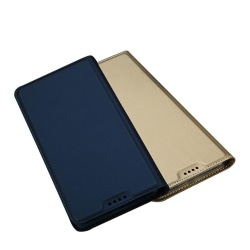 DUX DUCIS Stilrent Fodral med Kortfack - Samsung Galaxy A6 Roséguld