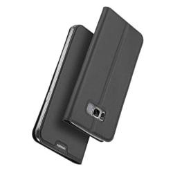 Fodral med Kortfack av DUX DUCIS för Samsung Galaxy S8 Plus Svart