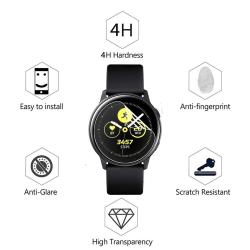 Galaxy Watch Active2 Mjukt Skärmskydd PET 40/44mm R820/R830 Transparent/Genomskinlig
