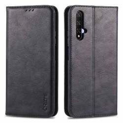 Huawei Nova 5T - Plånboksfodral Mörkbrun