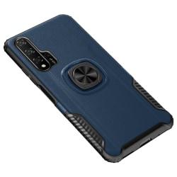 Huawei Nova 5T - Skal med Ringhållare LEMAN Roséguld