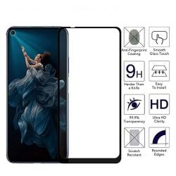 Huawei Nova 5T Skärmskydd Carbon 3D 9H 0,3mm HD-Clear