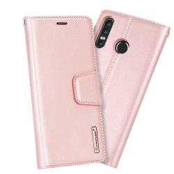 Huawei P30 Lite - Elegant Smart Plånboksfodral (HANMAN) Rosa