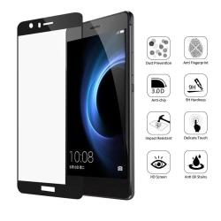 Huawei P9 3-PACK Skärmskydd 3D 9H 0,2mm HD-Clear Screen-Fit Guld