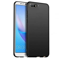 Huawei Y6 2018 - Stilrent Skyddande (Nillkin) Silikonskal Svart
