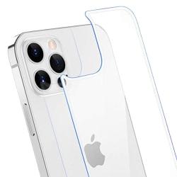 iPhone 12 Pro Max Skärmskydd 9H 0,3mm Baksida Transparent/Genomskinlig