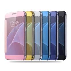 iPhone 6/6S - LEMAN Stilrent Clear View-fodral (ORIGINAL) Svart