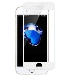 iPhone 6/6S Plus 2.5D Skärmskydd Ram 9H 0,3mm Vit