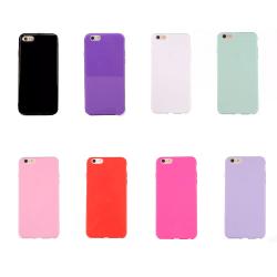 iPhone 6/6S - Skyddande Floveme Silikonskal Ljusblå