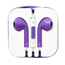 iPhone In-ear hörlurar With Mic In-lineControl Vit