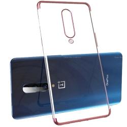 OnePlus 7 Pro - Stilrent Floveme Skyddsskal Roséguld
